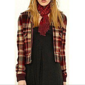 Polo wool plaid jacket size 6